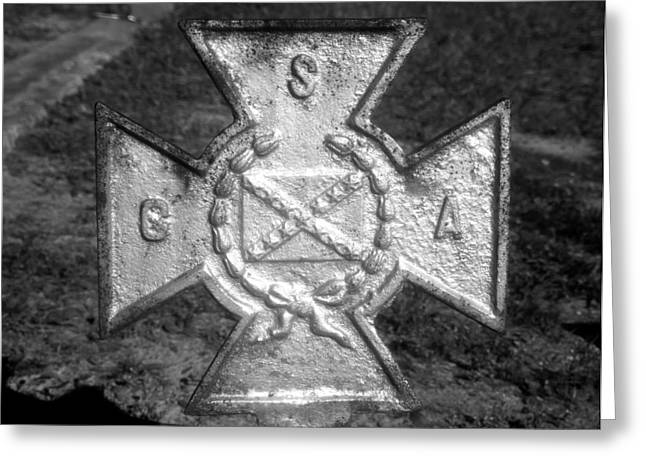 Southern Cross Of Honor Greeting Card by David Lee Thompson