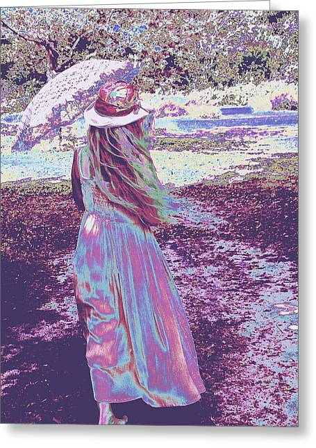 Southern Lady Greeting Card
