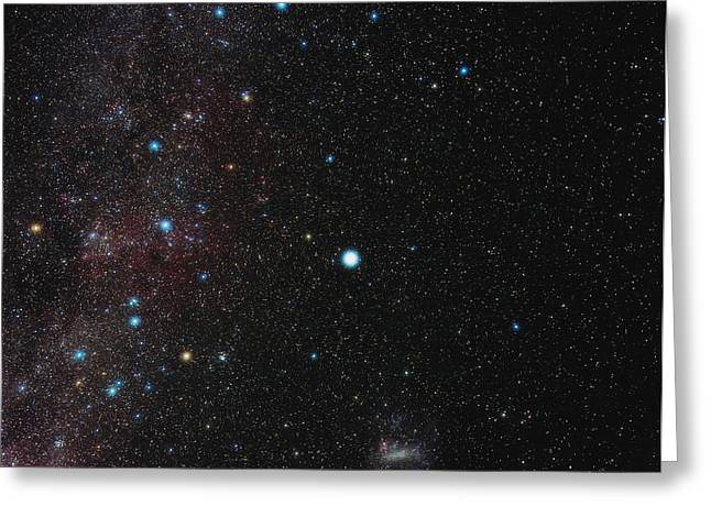 Southern Milky Way Greeting Card by Eckhard Slawik