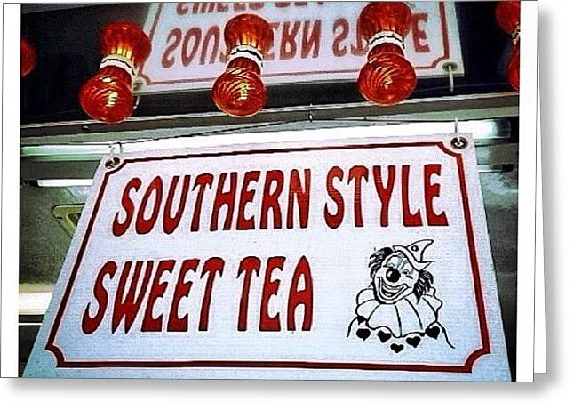 Southern Sweetness Greeting Card