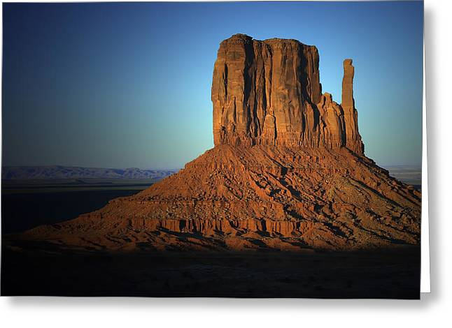 Greeting Card featuring the photograph Southwestern Evening by Renee Hardison
