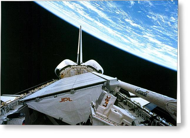 Space Shuttle Endeavor Greeting Card