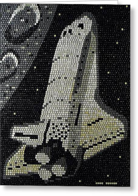 Space Shuttle Final Mission Greeting Card