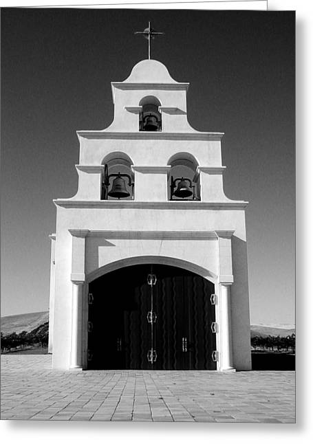 Spanish Mission Front Greeting Card