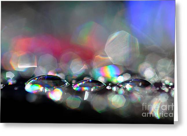 Greeting Card featuring the photograph Sparks by Sylvie Leandre