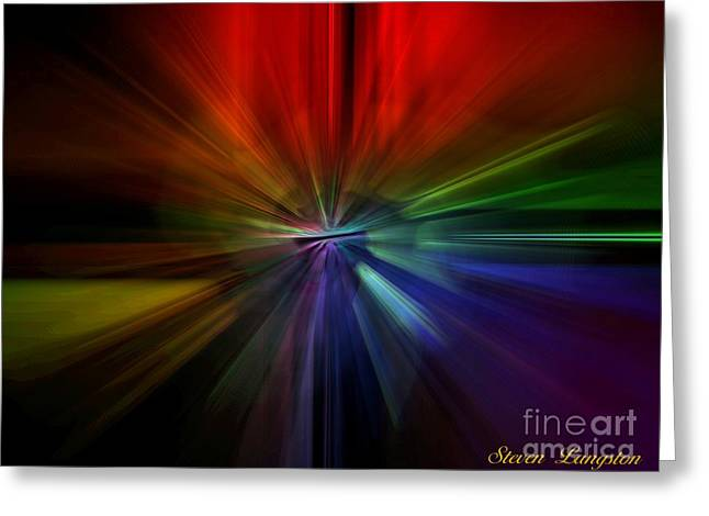 Speed Of Light Greeting Card