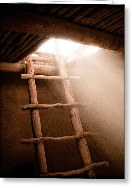 Spirit Ladder Greeting Card