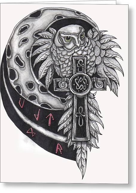 Spirit Of The North Greeting Card by Ramona Hartley