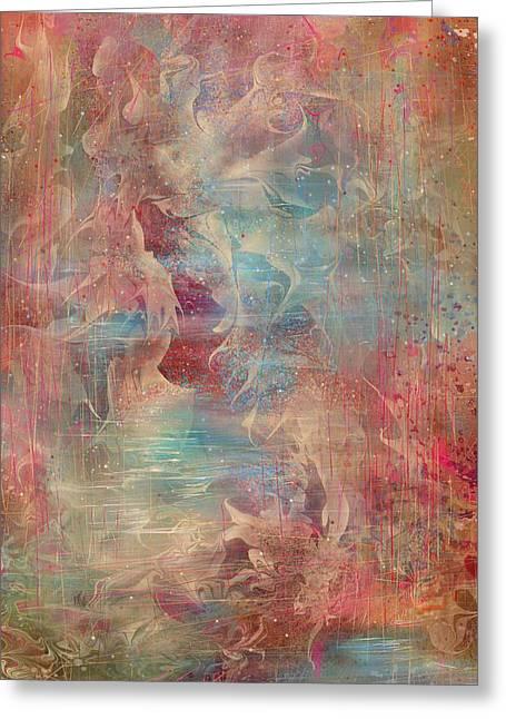 Spirit Of The Waters Greeting Card by Rachel Christine Nowicki