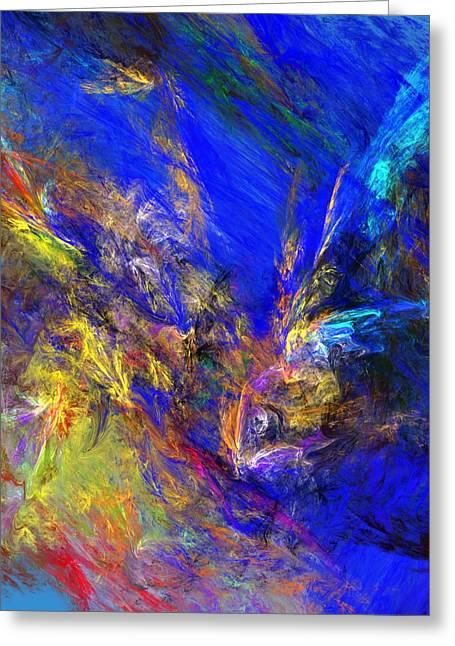 Spirits Over Bay Greeting Card by David Lane