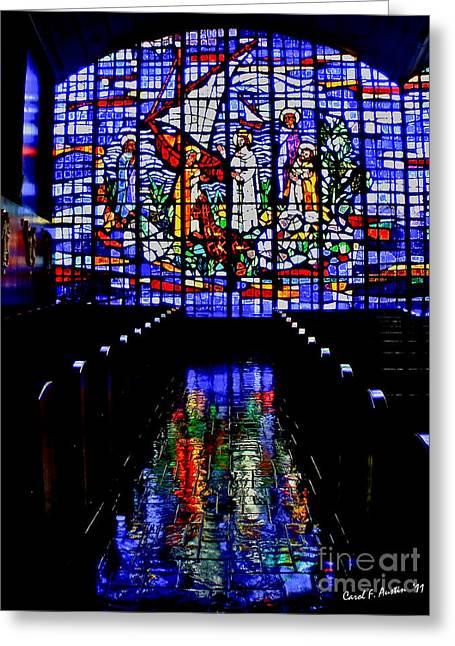 House Of God - Spiritual Awakening Greeting Card
