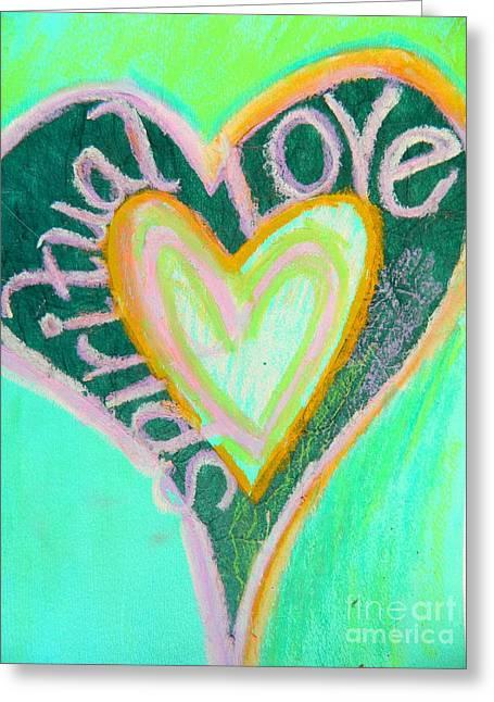 Spiritual Love Greeting Card