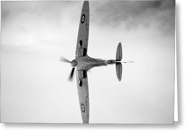 Spitfire. Greeting Card by Ian Merton