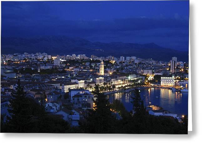 Greeting Card featuring the photograph Split Croatia by David Gleeson