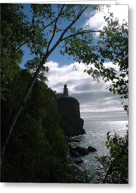 Split Rock II Greeting Card