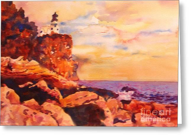 Split Rocks Golden Memories       Greeting Card