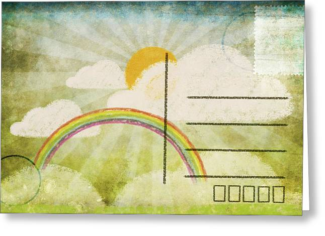 Spring And Summer Postcard Greeting Card by Setsiri Silapasuwanchai