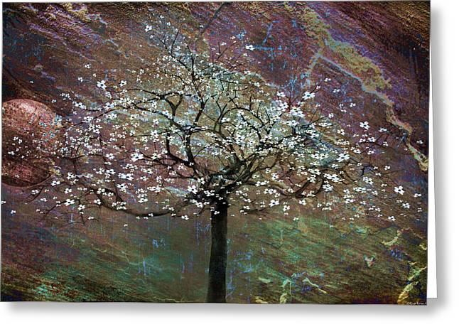 Spring Dreaming Greeting Card by Gray  Artus