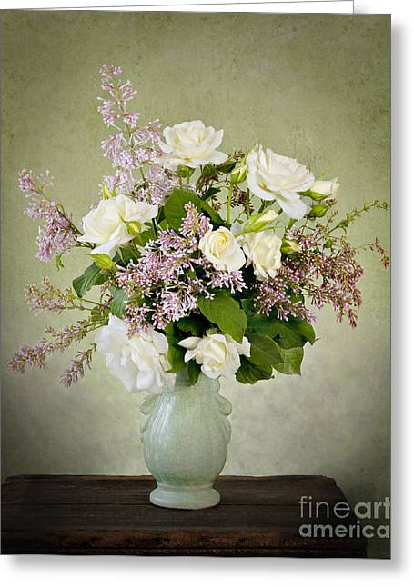 Greeting Card featuring the photograph Spring Fragrance by Cheryl Davis