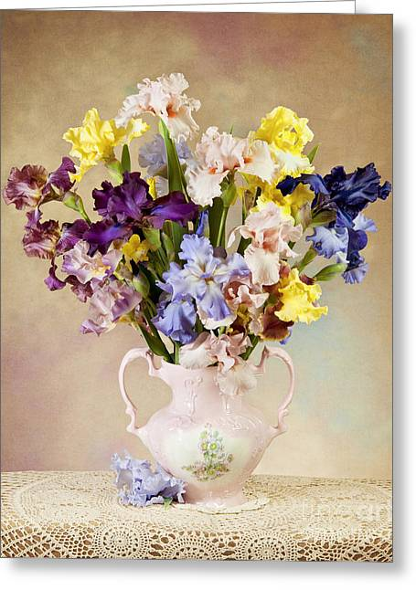 Greeting Card featuring the photograph Spring Grand Finale by Cheryl Davis