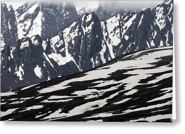 Spring In Alaska Mountains Greeting Card by Michael S. Quinton