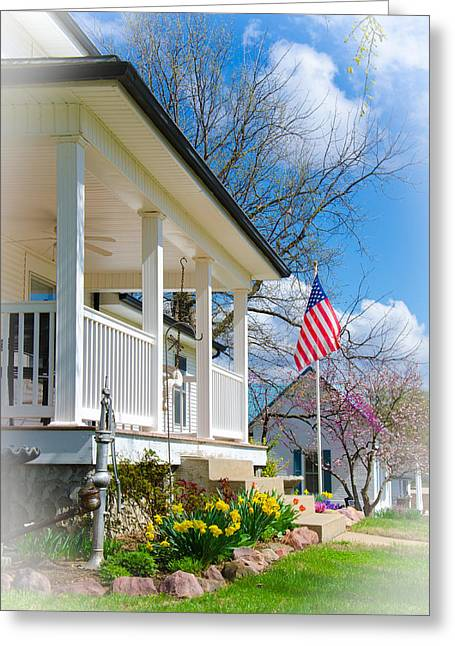 Spring In America Greeting Card by Christine Belt