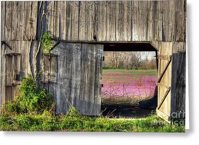 Spring In Kentucky Greeting Card by Larry Braun