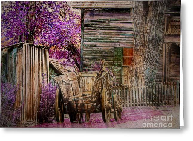 Greeting Card featuring the digital art Spring  by Irina Hays