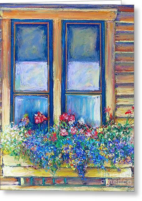 Spring Greeting Card by Li Newton