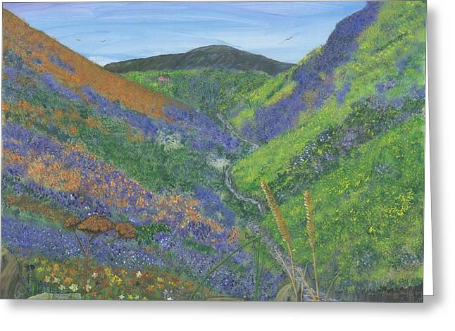 Spring Time In The Mountains Greeting Card by Lori  Theim-Busch