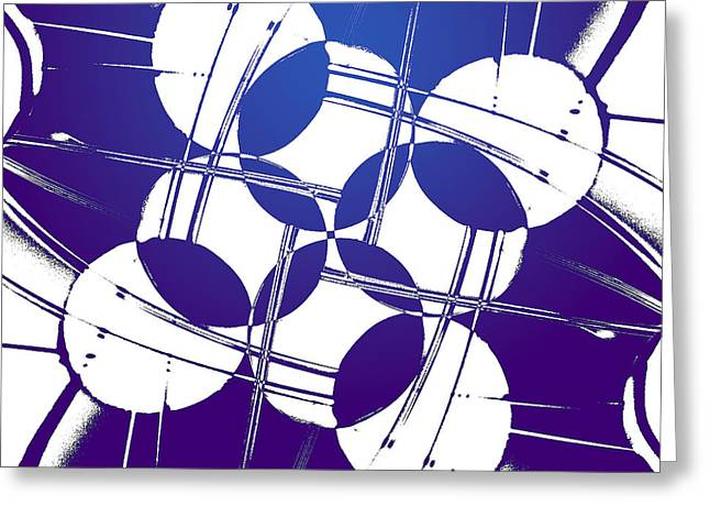 Greeting Card featuring the photograph Square Circles by Lauren Radke