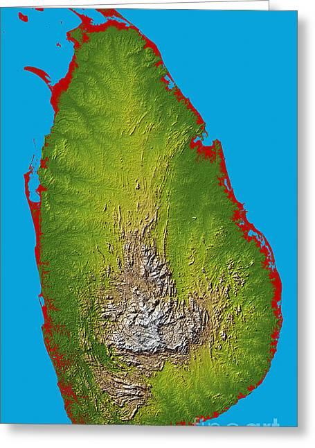 Sri Lanka Greeting Card by Stocktrek Images