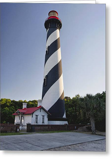 St Augustine Lighthouse Florida Greeting Card