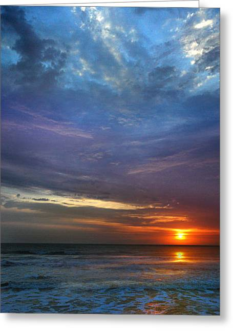 Greeting Card featuring the photograph St. Augustine Sunrise by Rod Seel