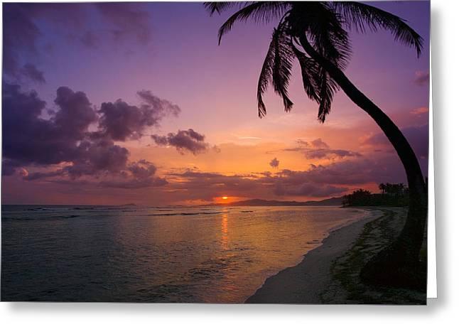 St. Croix Sunrise Greeting Card
