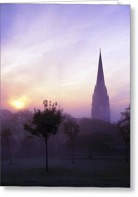 St Eugenes Cathedral, From Brooke Park Greeting Card