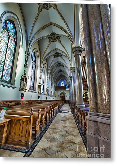 St Louis Church 10 Greeting Card by Chuck Alaimo