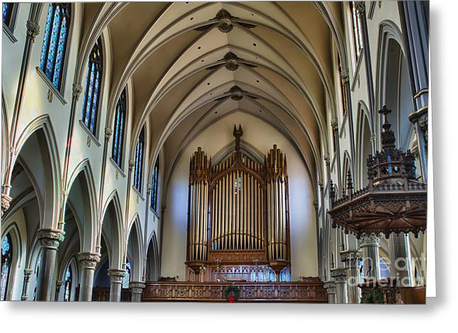 St Louis Church 13 Greeting Card by Chuck Alaimo
