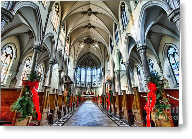 St Louis Church 4 Greeting Card by Chuck Alaimo