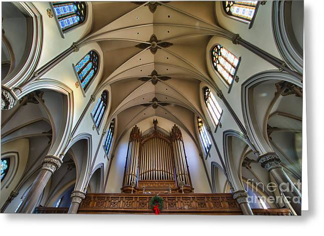 St Louis Church 8 Greeting Card by Chuck Alaimo