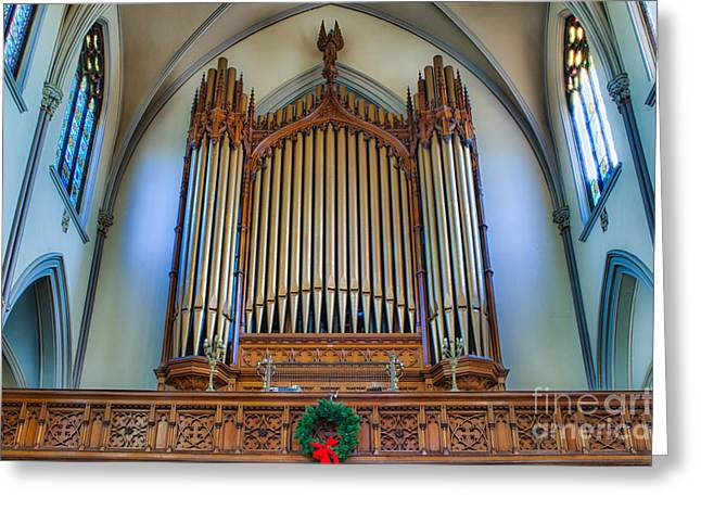 St Louis Church 9 Greeting Card by Chuck Alaimo