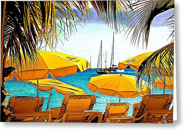 St. Maarten Greeting Card