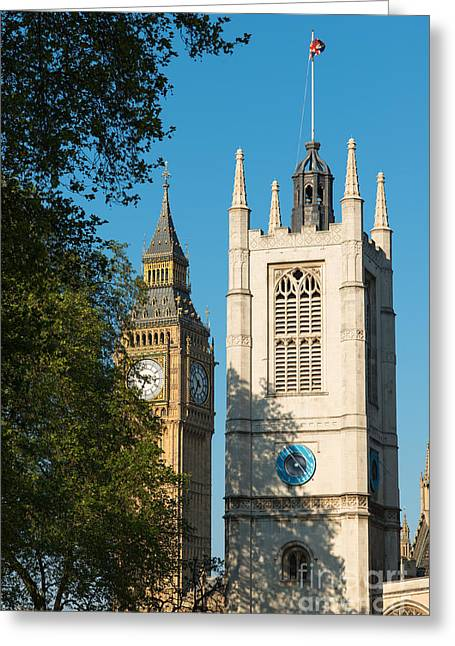 St Margarets Church Westminster  Greeting Card by Andrew  Michael