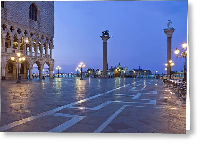 St. Marks Square Piazza San Marco Greeting Card