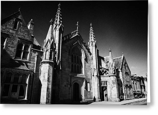 St Marys Roman Catholic Church Inverness Highland Scotland Uk Greeting Card by Joe Fox