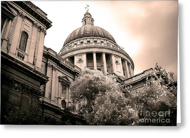 St. Paul's Cathedral Greeting Card by Thanh Tran