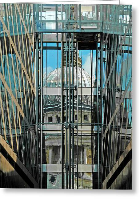 St Pauls Compressed Greeting Card