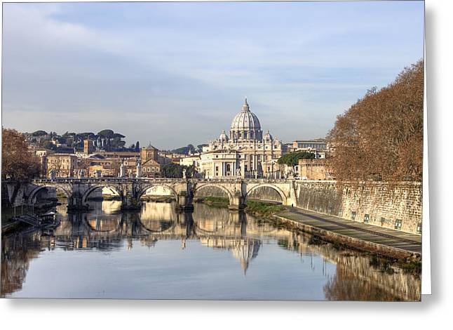 St. Peter's Basilica Greeting Card by Joana Kruse