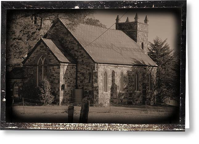 St Stephens Anglican Church Greeting Card