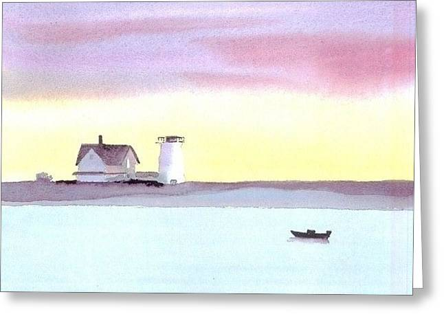 Stage Harbor Greeting Card